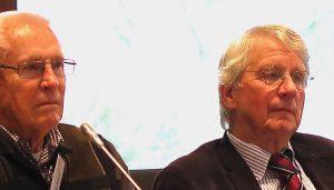 Harmannus Kuper en Albert Huizing